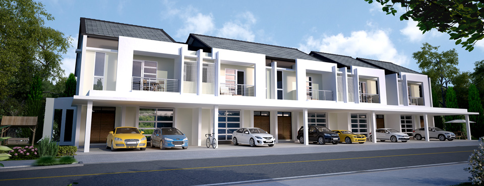 Homelite development sdn bhd for 3 storey terrace house design